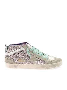 Golden Goose - Mid Star Classic sneakers in pink glitter