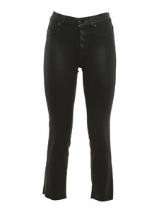 7 For All Mankind - Jeans The Straight Crop Slim neri