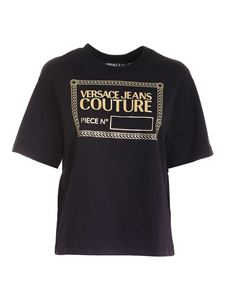 Versace Jeans Couture - Logo T-shirt in black