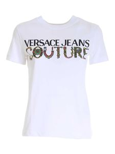 Versace Jeans Couture - Logo T-shirt in white