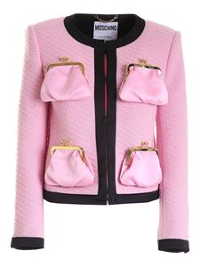 Moschino - Archive Purses jacket in pink and black