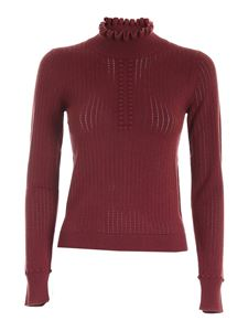 See by Chloé - Dolcevita traforato color Boyish Red