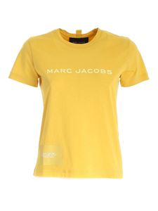 Marc Jacobs  - Logo printed T-shirt in yellow