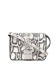 Givenchy - 4G mini crossbody bag in white and black