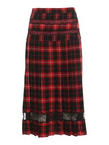 Pinko - Arica skirts in black and red