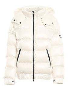 TWINSET - Lightweight puffer coat in white