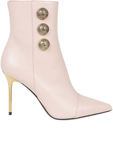 Balmain - Roni ankle boots in pink