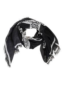Givenchy - Black and white scarf