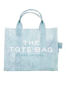Marc Jacobs  - Small The Tie Dye tote in light blue