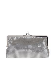Paco Rabanne - Pixel pouch in silver color