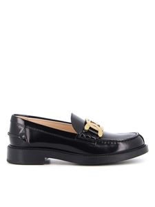 Tod's - Leather loafers in black