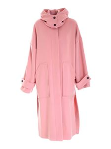 MSGM - Long coat in pink