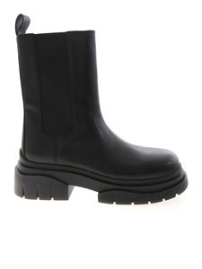 Ash - Storm ankle boots in black