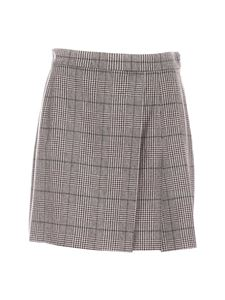 Federica Tosi - Prince of Wales skirt in brown