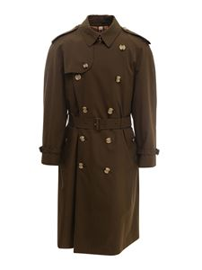 Burberry - Trench Westminster verde
