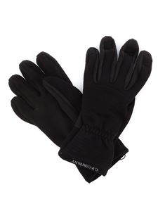 CP Company - Tech fabric gloves in black