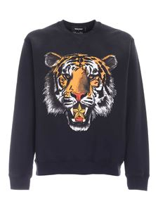 Dsquared2 - Tiger Mike sweatshirt in faded black