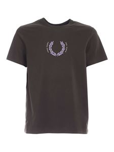 Fred Perry - Laurel Wreath T-shirt in Hunting Green