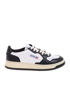 Autry - Sneakers Medalist Low bianche e nere