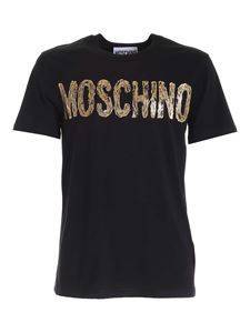 Moschino - Painted Logo T-shirt in black