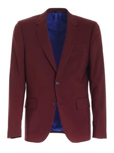 Paul Smith - Single-breasted suit in burgundy