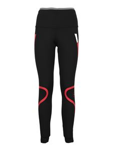 Adidas by Stella McCartney - Recycled polyester leggings in black