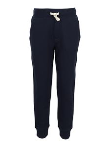 POLO Ralph Lauren Kids - Logo embroidery tracksuit bottoms in blue