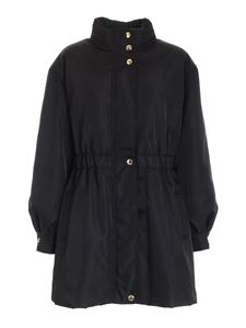 Moschino - Charms parka in black