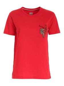 Paul Smith - T-shirt Year Of The Tiger rossa