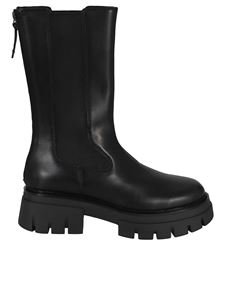 Ash - Lennox ankle boots in black