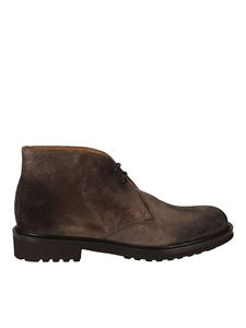 Doucal's - Suede ankle boots in brown