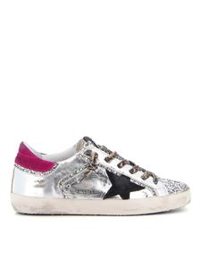 Golden Goose - Super Star sneakers in silver color