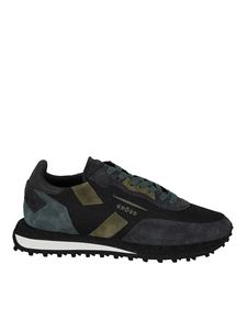 Ghoud Venice - Rush sneakers in green and black