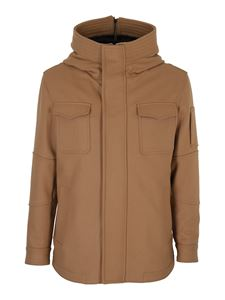 Dondup - Parka in panno cammello
