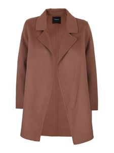 Theory - Wool-cashmere blend jacket in pink
