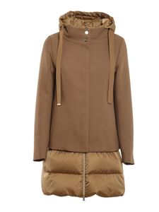 Herno - City Glamour down jacket in camel color