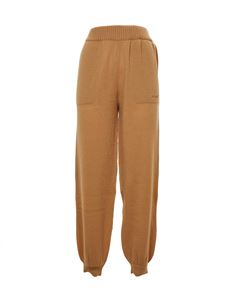 MSGM - Knitted pants in beige