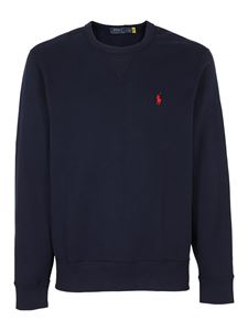 POLO Ralph Lauren - Sweatshirt with embroidered logo in blue