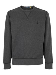 POLO Ralph Lauren - Sweatshirt with embroidered logo in grey