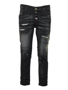 Dsquared2 - Jeans Cool Girl Cropped neri