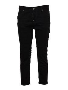 Dsquared2 - Jeans cropped neri