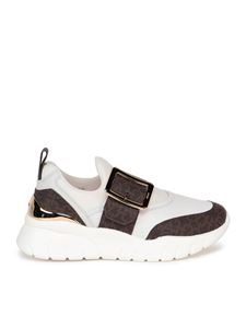 Bally - Brinelle sneakers in white and brown