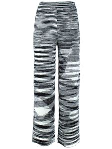 Missoni - Striped pants in black and white