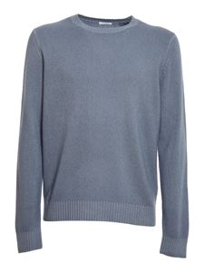 malo - Cashmere blend sweater in light blue
