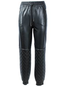 Ermanno Scervino - Coated joggers in black
