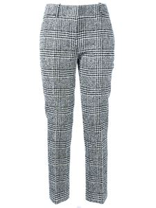 Ermanno Scervino - Prince of Wales check pants in in black white