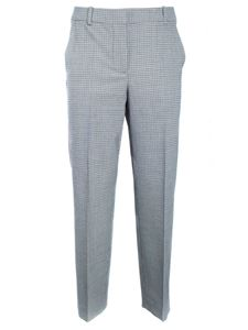 Moschino Boutique - Houndstooth pants in grey