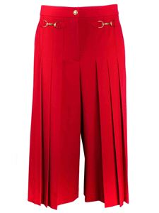 Moschino Boutique - Trouser skirt in red