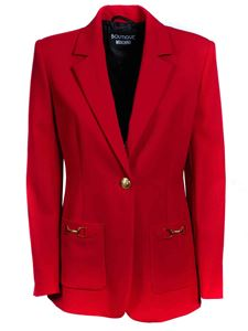 Moschino Boutique - Single-breasted blazer in red