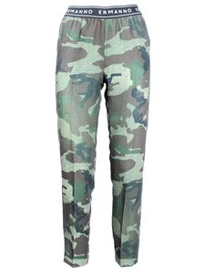 Ermanno Scervino - Ermanno Firenze pants in camouflage green